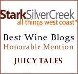 Stark Silver Creek Best Wine Blogs Honorable Mention
