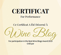 Best Wine Blogs Award 2019