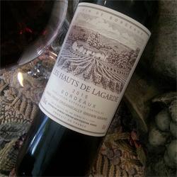 Bordeaux ~ Les Hauts de Lagarde 2015 ~ The Red and The White